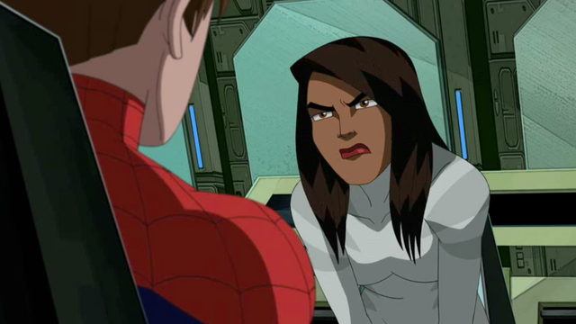 File:Ava angry at Spider-Man about not telling her and the others who Venom was.png