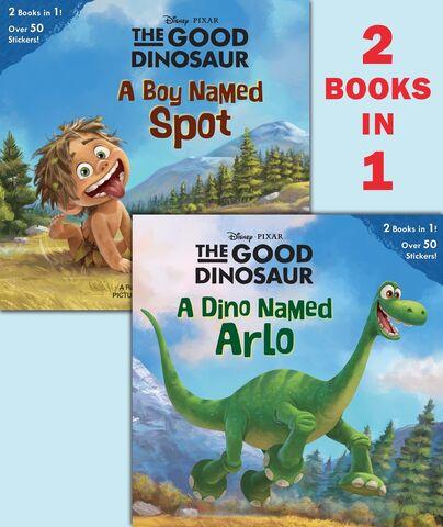 File:The Good Dinosaur 2 Books in 1.jpg