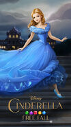 Cinderella-free-fall-art