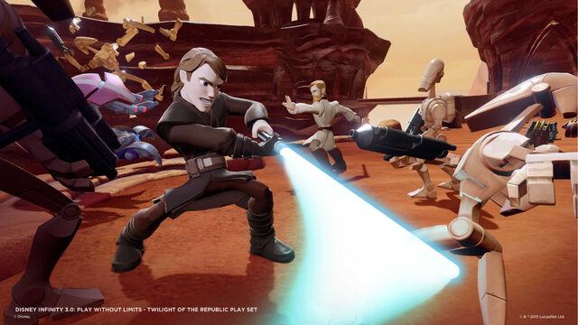 File:Disney INFINITY TOTR PlaySet Anakin 2.jpg