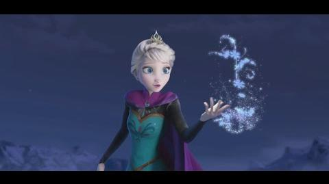 """Making of Let It Go"" Clip - The Story of Frozen Making a Disney Animated Classic"