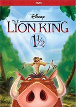LionKing1andAHalf 2017 DVD