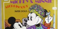Mickey & Minnie Steppin' Out Paper Dolls