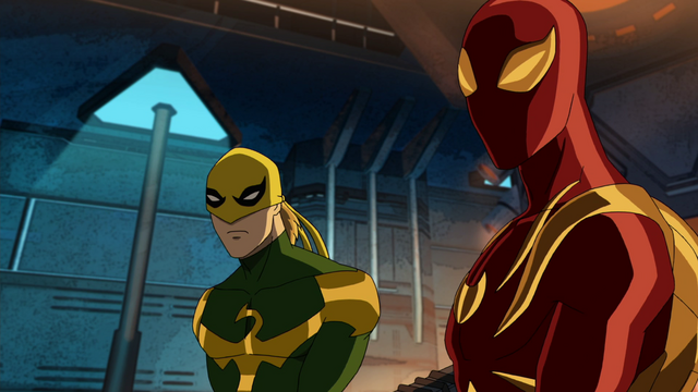 File:Ultimate Iron Fist & Iron Spider USMWW 1.png