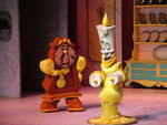 Lumiere & Cogsworth
