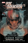 Poe Dameron Invitiational Postcard Front