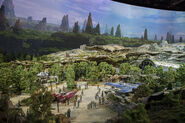 Star Wars Land D23 2017 Model 05