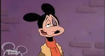 Mickey beat up Mortimer