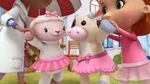 Lambie and moo-moo