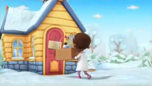 File:Doc in the snow without her snow clothes.jpg