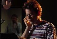 Matthew Broderick behind the scenes of TLK