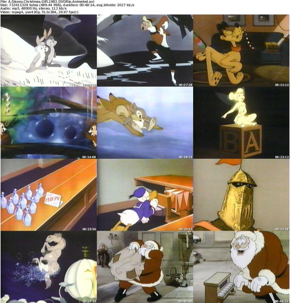 Image - ADisneyChristmasGift1982DVDRipAnimated s.jpg | Disney Wiki ...