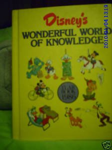 Disneys wonderful world of reading yearbook 1986