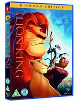 The Lion King 2011 UK DVD
