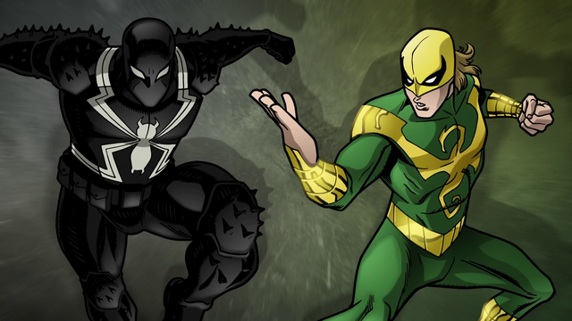 File:Agent Venom and Ultimate Iron Fist USMWW.png