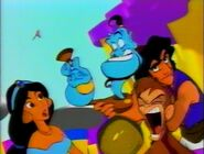 Aladdin characters in Magical World of Toons intro