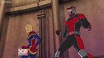 Captain Marvel n Ant Man AUR