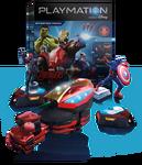 Playmation Avengers Set Render