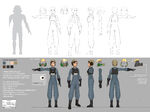 A-Wing Pilot Female Concept Art