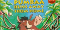 Pumbaa Runs Away from Home