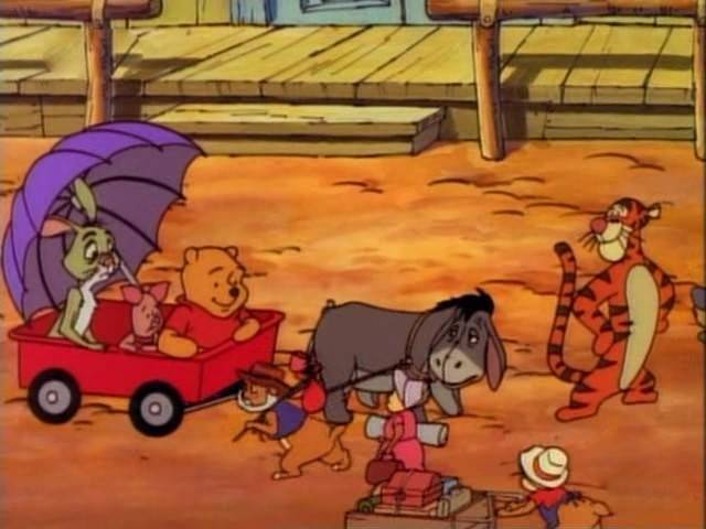File:Winnie the Pooh Tigger Piglet Rabbit and Eeyore in the old west.jpg