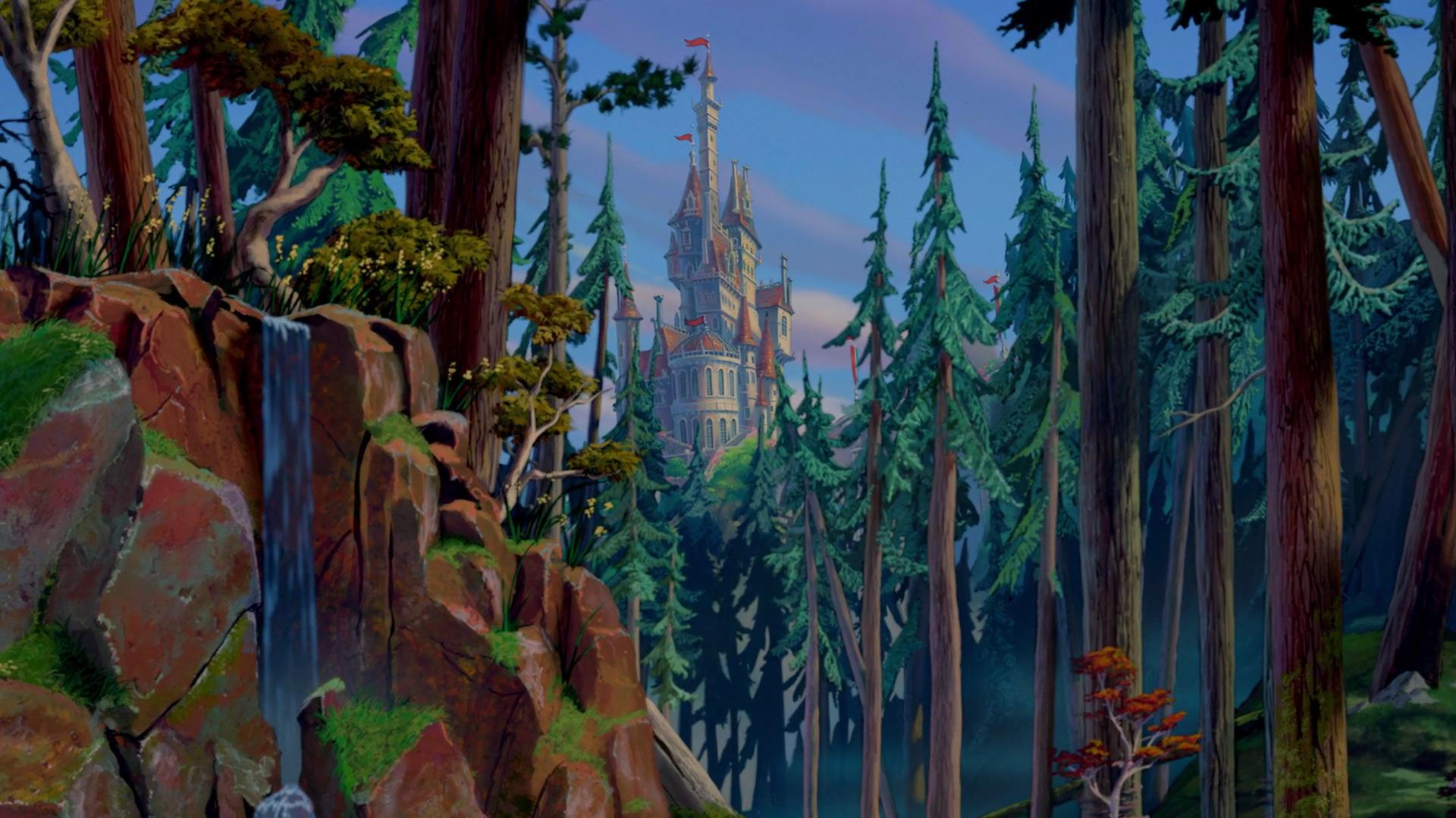 beast's castle | disney wiki | fandom poweredwikia