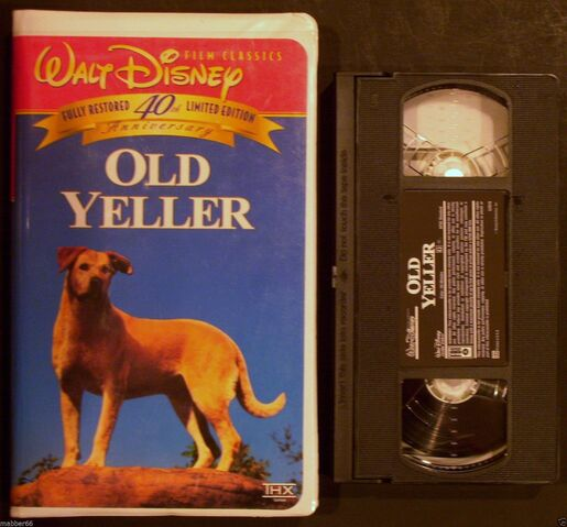 File:Walt Disney Film Classics - Old Yeller - 40th Anniversary Limited Edition - Front and Tape.JPG