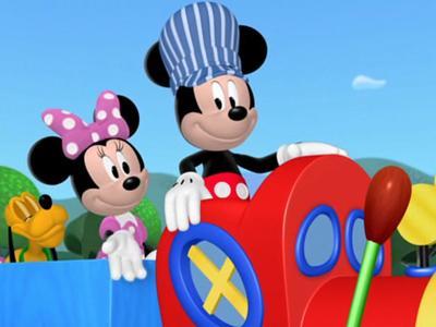 Mickey 39 s train stations disney wiki fandom powered by for Disney mickey mouse motorized choo choo train with tracks