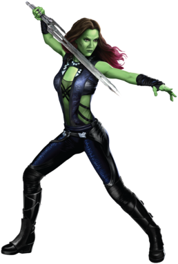 Gamora Promo Art Decor I