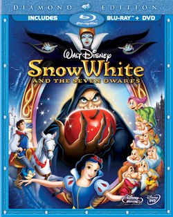 Snow White and the Seven Dwarfs Diamond Edition Blu ray