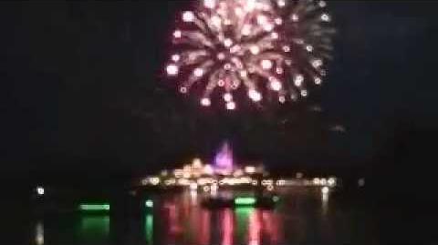 Walt Disney World July 4th Fireworks Show 2013