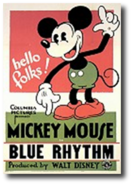 Blue rhythm poster