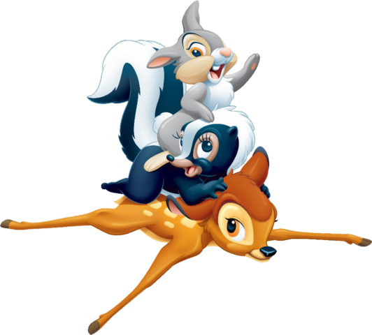File:Bambi and his Friends.png