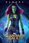 Gamora Gotg Poster