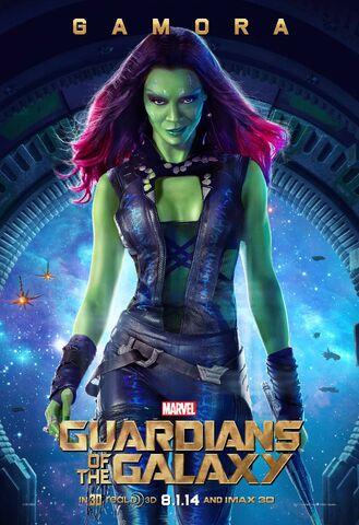File:Gamora Gotg Poster.jpg