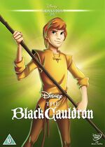 The Black Cauldron UK DVD 2014 Limited Edition slip cover