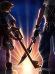 KH3D Sora and Riku