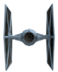 TIE Fighter Render