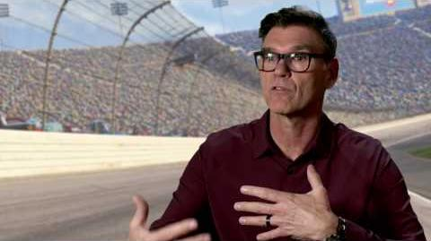 "Cars 3 ""Ray Reverham"" Ray Evernham Interview"