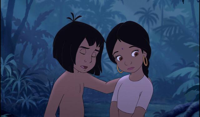 File:Mowgli and Shanti just heard something.jpg