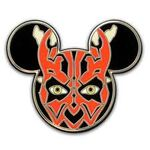 Darth Maul Mickey Pin