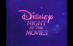 Disney Night at the Movies