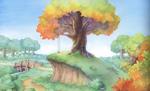 Wood - Hill (Art)