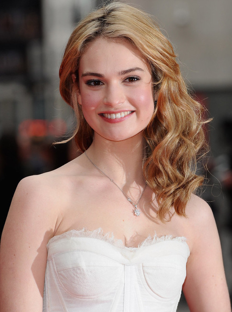 lily james 2017
