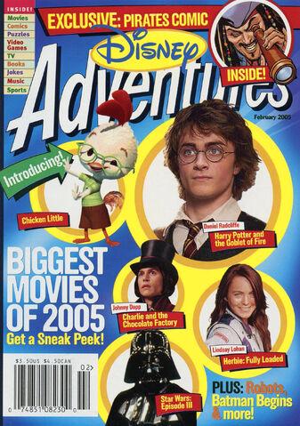 File:Disney Adventures Magazine cover February 2005 Movies.jpg