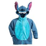 Stitch character zip hoodie