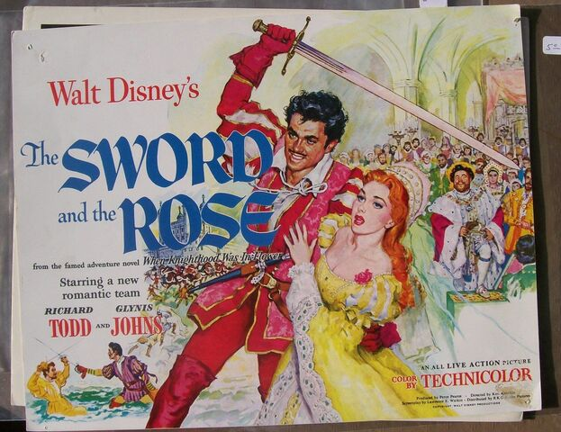 File:The sword and the rose lobby cards.jpg