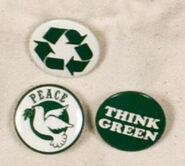 Thinkgreen-pins