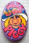Walt disney world miss piggy button
