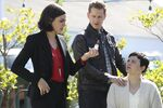 Once Upon a Time - 6x07 - Heartless - Promotional Images - Regina, David and Snow